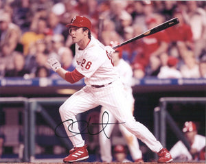 Chase Utley Signed Autographed Glossy 8x10 Photo Philadelphia Phillies - COA Matching Holograms