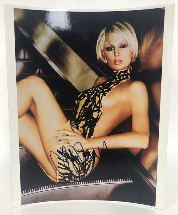 Paris Hilton Signed Autographed Glossy 8x10 Photo - COA Matching Holograms