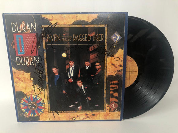 Duran Duran Band Signed Autographed