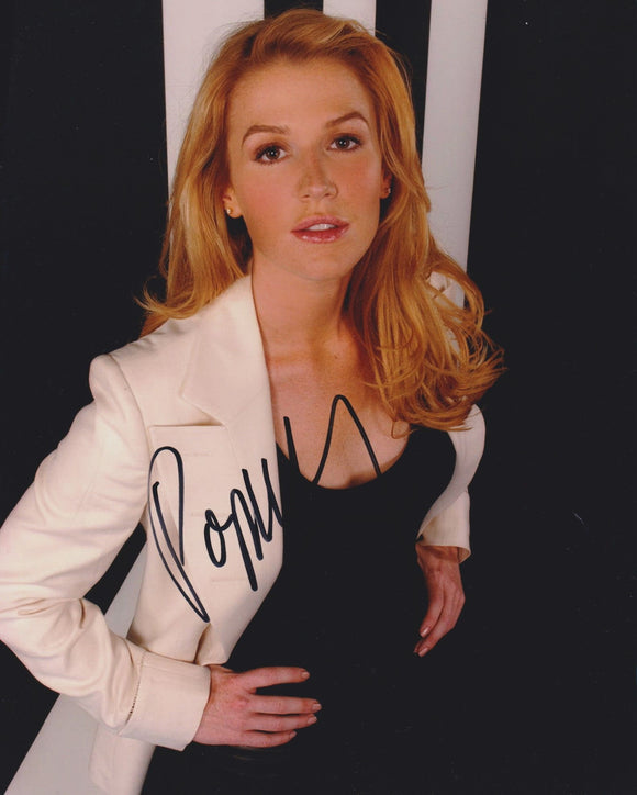 Poppy Montgomery Signed Autographed Glossy 8x10 Photo - COA Matching Holograms