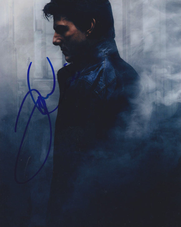 Tom Cruise Signed Autographed