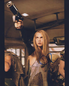 "Cara Delevingne Signed Autographed ""Valerian"" Glossy 8x10 Photo - COA Matching Holograms"