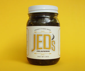 JED's Sweet-Cured Jalapenos (16 oz)