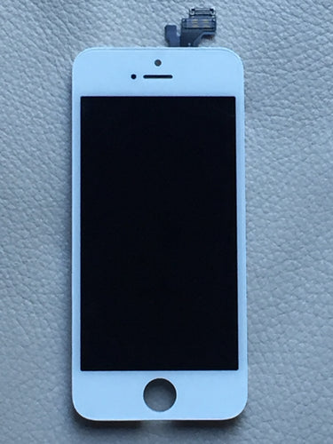 AAA Grade iPhone 5 LCD Screen Digitizer -White - 6 Month Warranty