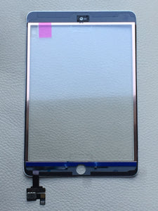 White OEM Glass Touch Screen Digitizer With IC for iPad Mini 3 A1599 A1600