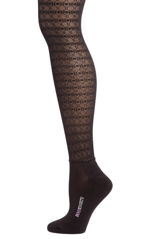 HALSTED DOT & CHAIN TIGHTS