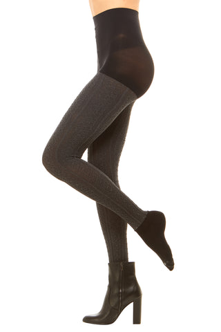 CARLY CABLE KNIT TIGHTS