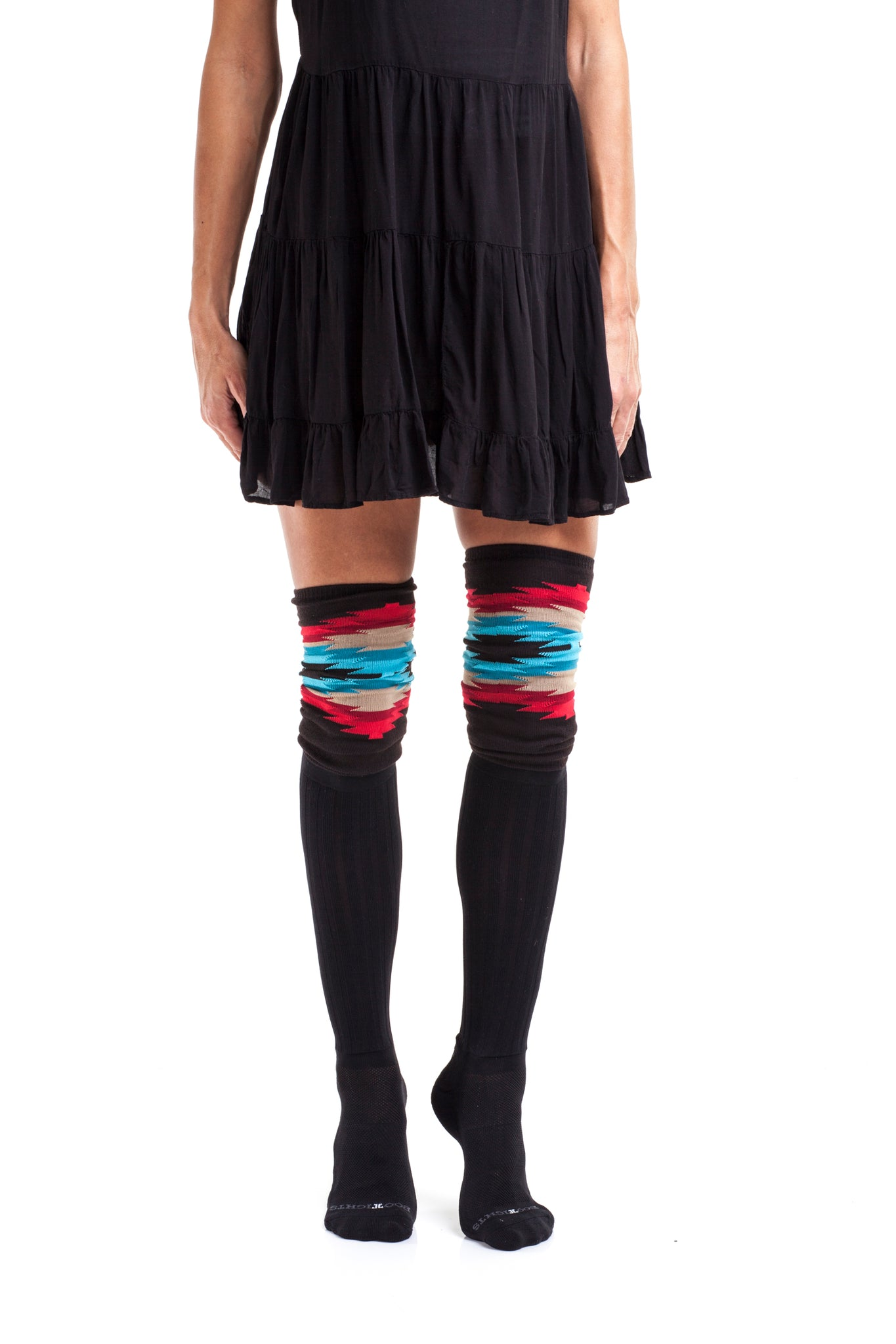 AZTEC OVER THE KNEE KNIT SLOUCH