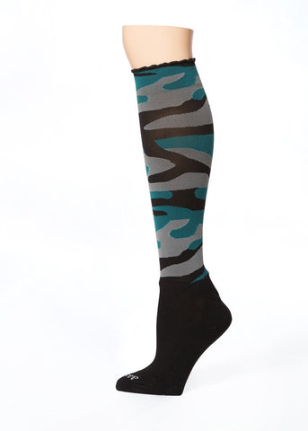 GI JANE CAMO KNEE HI