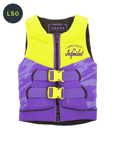 The Cause F/E KIDS Neo Vest - YELLOW / PURPLE