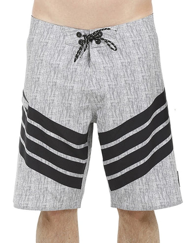 RADAR MENS BOARDSHORT - BLK/CHAMBRAY