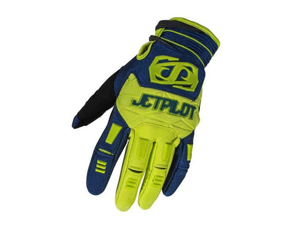 Matrix Race Glove - Blue/Lime