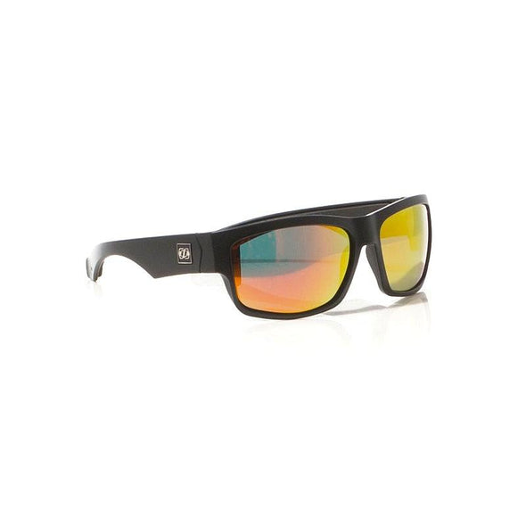 Matrix Ride Polar Sunnies - Matt Black / Red / Mirror