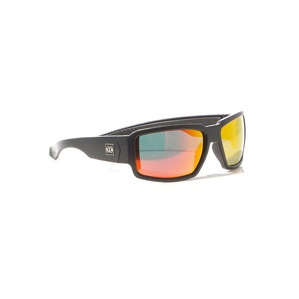 Freeride Polar Sunnies - Matt Black / Red / Mirror