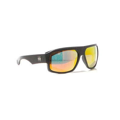 Strike Polar Sunnies - Matt Black / Red / Mirror