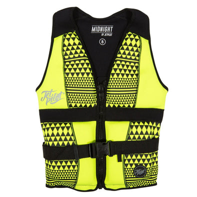 Midnight Seg Ladies Neo Vest - Yellow
