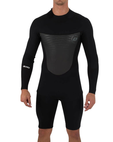 The Cause 2mm L/S Springsuit - Black
