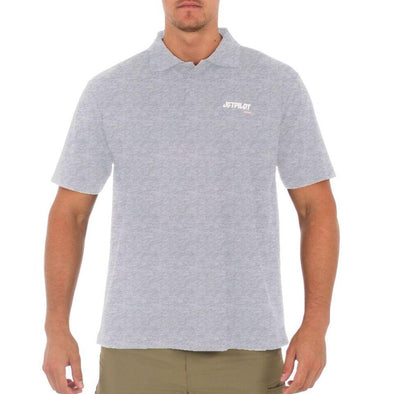 FUELED POLO SHIRT - ICE MARLE