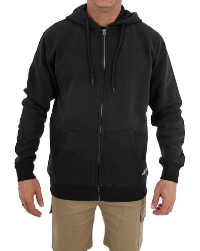 FUELED 2 ZIP HOOD - BLACK