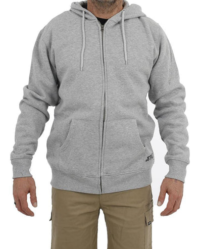 FUELED 2 ZIP HOOD - ICE MARLE
