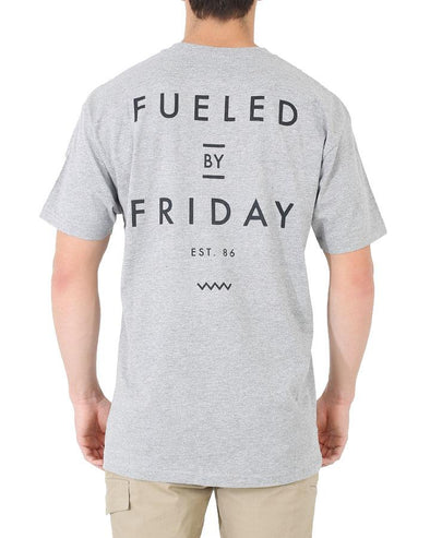 FUELED 2 TEE - ICE MARLE