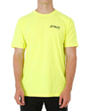 FUELED 2 TEE - HIVIS YELLOW