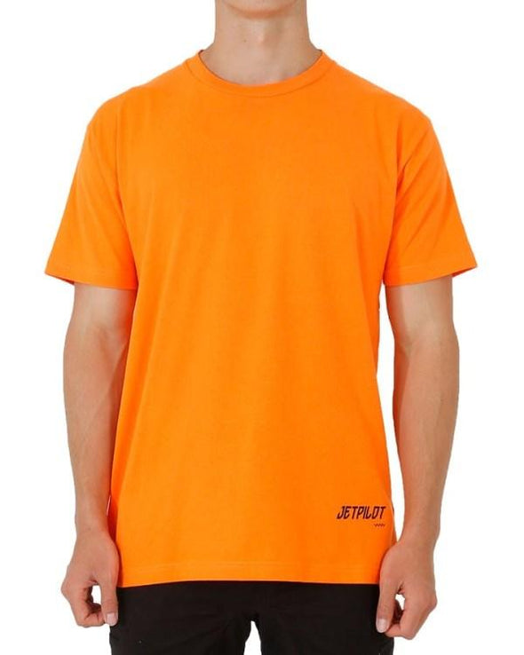 FUELED LOW HIT TEE HI VIS ORANGE