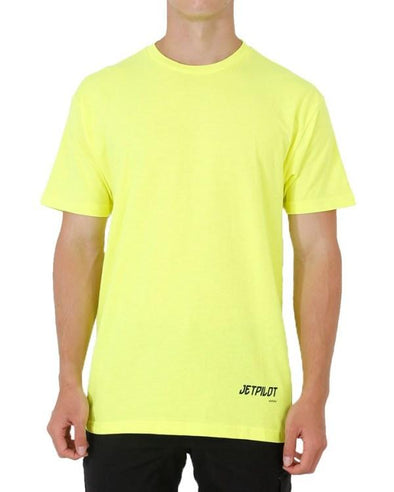 FUELED LOW HIT TEE HI VIS YELLOW