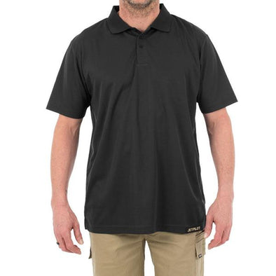 FUELED X2 POLO SHIRT - BLACK