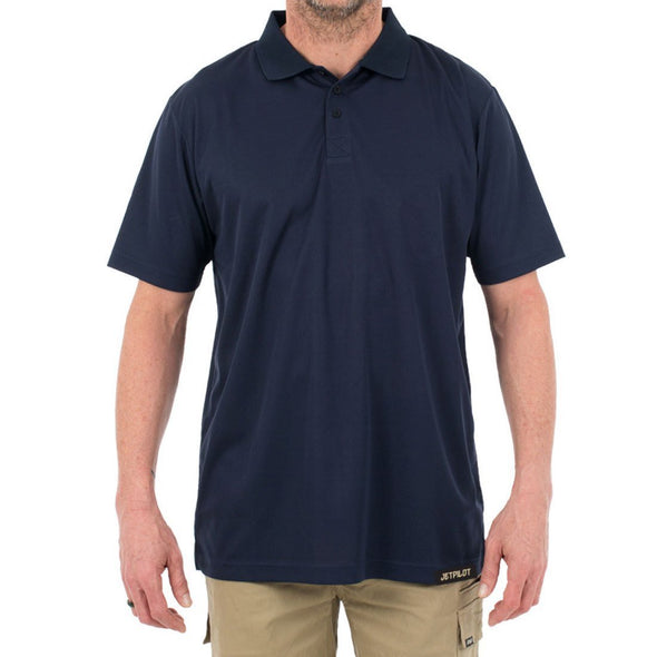 FUELED X2 POLO SHIRT - INK
