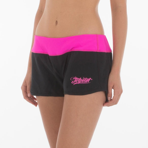 Babin Ladies Rideshort - Black/Pink