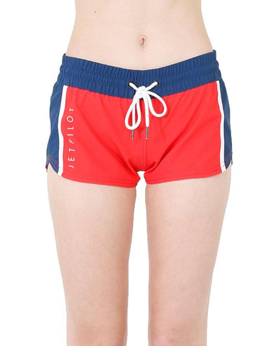 JETPILOT PRO SERIES LADIES BOARDSHORT RED