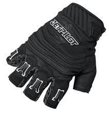 Short Finger Race Glove - Black