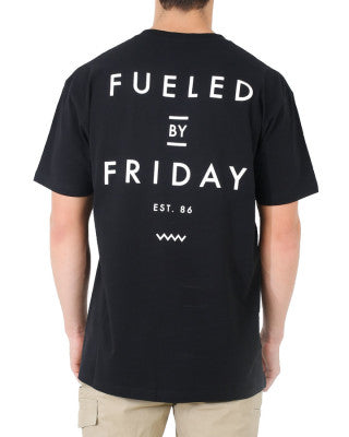 FUELED 2 TEE - BLACK