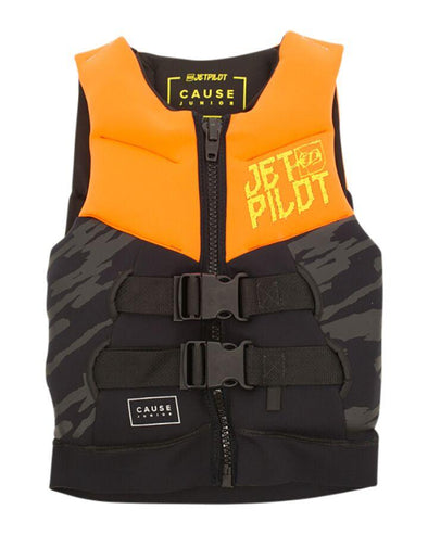 The Cause F/E KIDS Neo Vest - ORANGE L50