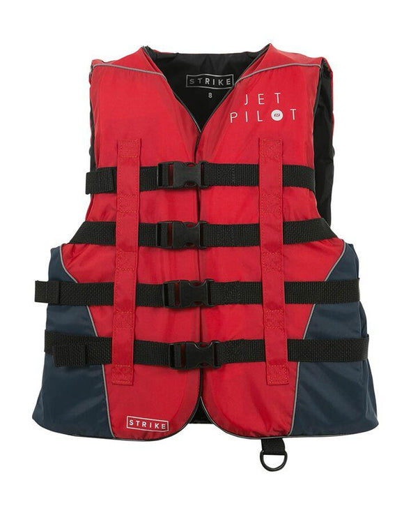 STRIKE NYLON LADIES VEST - RED L50