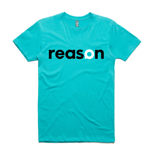 Reason T shirt Mens / Unisex  TEAL