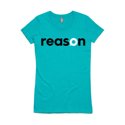 Reason T shirt Womens TEAL