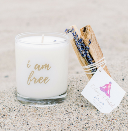 I Am Free | New Moon Candle