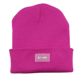 MSA Signature Beanie with 5 LED Lighted Cap,Beanie Knitted