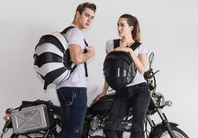 www.mensswaggerapparel.com Quick shipping low prices Biker Apparel & Accessories ROCK BIKER Motorcycle Backpack Moto Helmet bag shoulder riding knights locomotive tail gear Knight Racing knapsack
