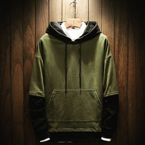 www.mensswaggerapparel.com Quick shipping low prices Mens T-Shirt & Hoodie Thick Free Style Fleece Hoodies Plus Size Male Green, Black, Gray, White