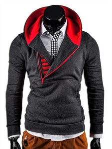 Men's Sweater Jumper Hoodie Sweatshirt Long Sleeve with Collar