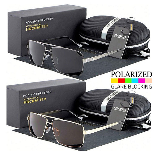 www.mensswaggerapparel.com Quick shipping low prices men's sunglasses Black Polarized Aviator Men Glasses Outdoor Sports Eyewear Driving UV Sunglasses