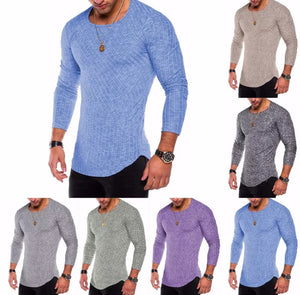 www.mensswaggerapparel.com Quick shipping low prices Men's Sweaters Classic Long Sleeve Slim O Neck Thin Military Stly Sweater