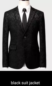 www.mensswaggerapparel.com Quick shipping low price men's vest suit & suit jackets Black Suit Men Business Banquet Wedding Mens Suits Jacket with Vest and Trousers Large