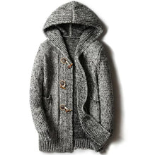 www.mensswaggerapparel.com Quick shipping low prices men's sweaters  Autumn Winter Casual Cardigan Sweater Loose Fit Knitting Sweaters