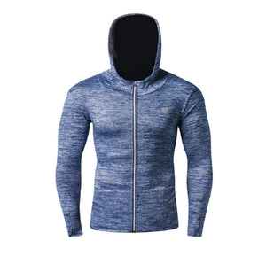 www.mensswaggerapparel.com Quick shipping low prices Mens T-Shirt & Hoodie Running Jacket Men Breathable Quick-drying Running Hooded Windproof Reflective Coat Outdoor Sports