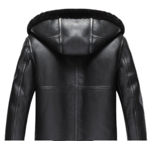 MSA Signature Sheepskin Genuine Leather Winter Coat