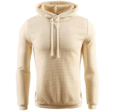 MSA Signature Hooded Men's Sweater Winter Warm Knitted